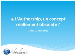 Video N°9 : L'Authorship, un Concept Réellement Obsolète ?