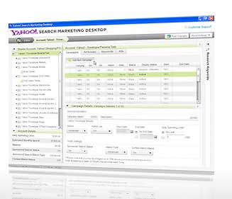 Yahoo! Search Marketing Desktop