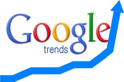 Google Trends propose (enfin) les recherche du moment en France