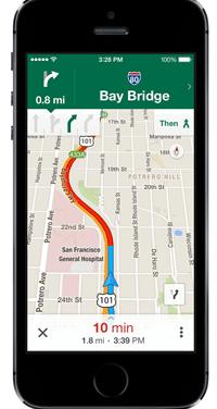 Google Maps mobile améliore son mode offline