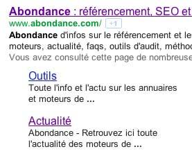 sitelinks-abondance