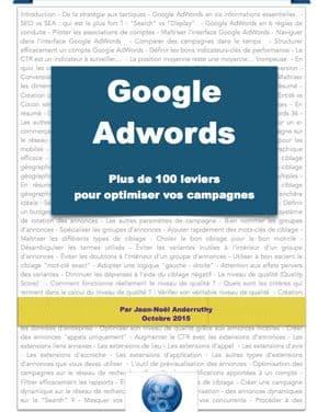 Guide PDF : Google Adwords – 100 leviers pour optimiser vos campagnes