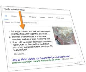 Google ajoute plus d'images et de liens connexes aux Featured Snippets