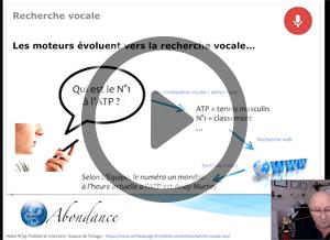 La Recherche Vocale, le Grand Défi de 2017 ? Vidéo SEO