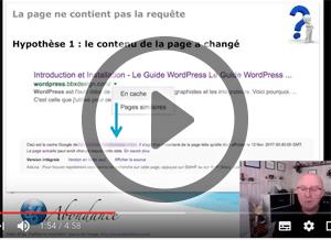 Pourquoi un résultat Google ne contient-il pas la requête demandée ? Vidéo SEO