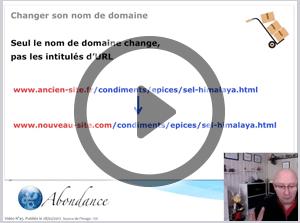 Comment changer de nom de domaine sans perdre son référencement ? Vidéo SEO