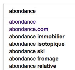 Google en dit plus sur son autocomplétion