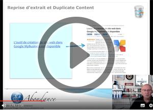 La reprise d'un extrait de vos contenus peut-elle créer du duplicate content ? Vidéo SEO