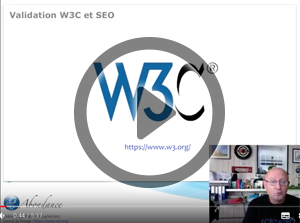 Une page web doit-elle être valide W3C pour être bien référencée ? Vidéo SEO