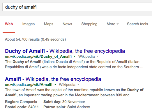 knowledge graph serp