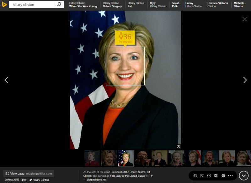 bing-how-old-hillary-clinton
