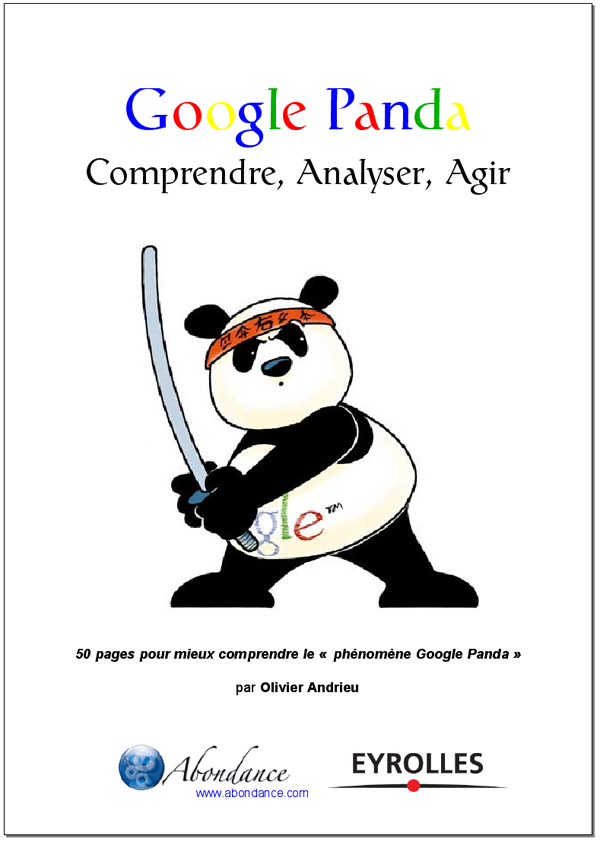 Un Ebook sur Google Panda : Comprendre, Analyser, Agir
