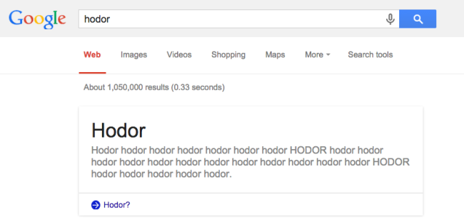 easter-egg-google-hodor