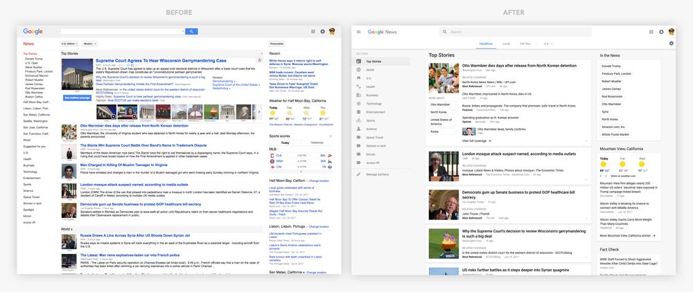 Nouveau Look Pour Google Actualites Actualites Seo Et Moteurs