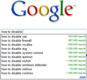 google-suggest-how-to-disable