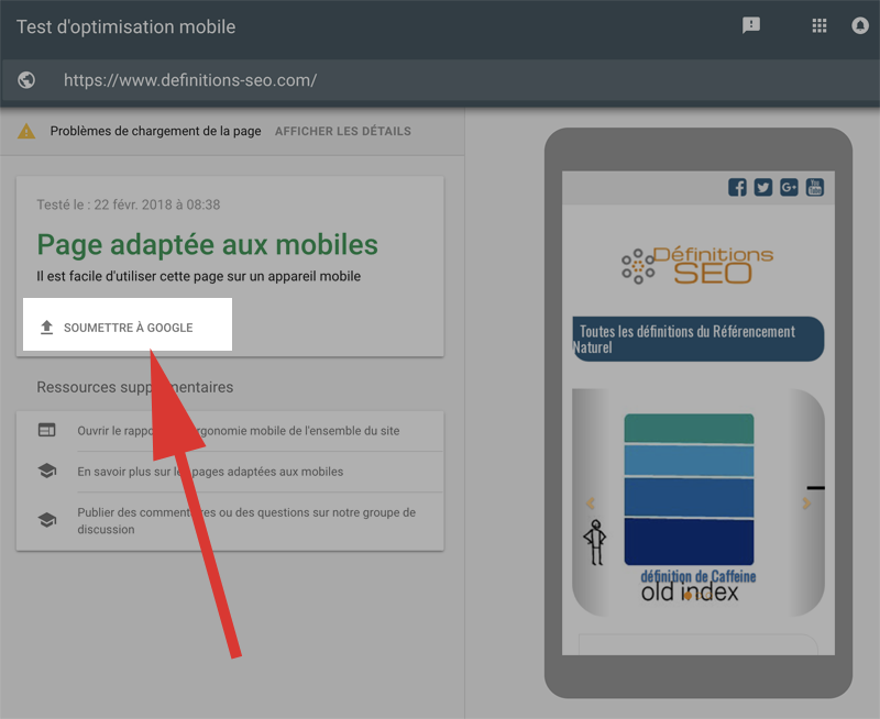 google-indexation-mobile-rapide