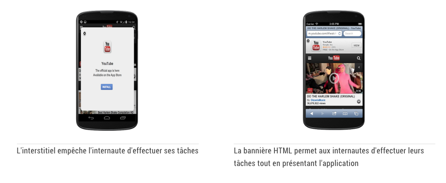 interstitiel mobile