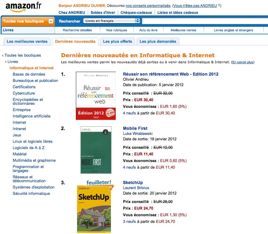 Le Livre Reussir Son Referencement Web Edition 2012