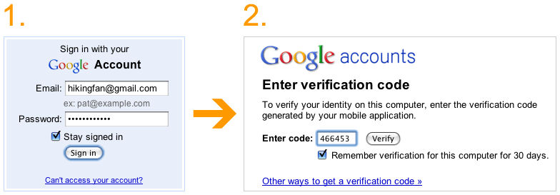 Authentification Google 2