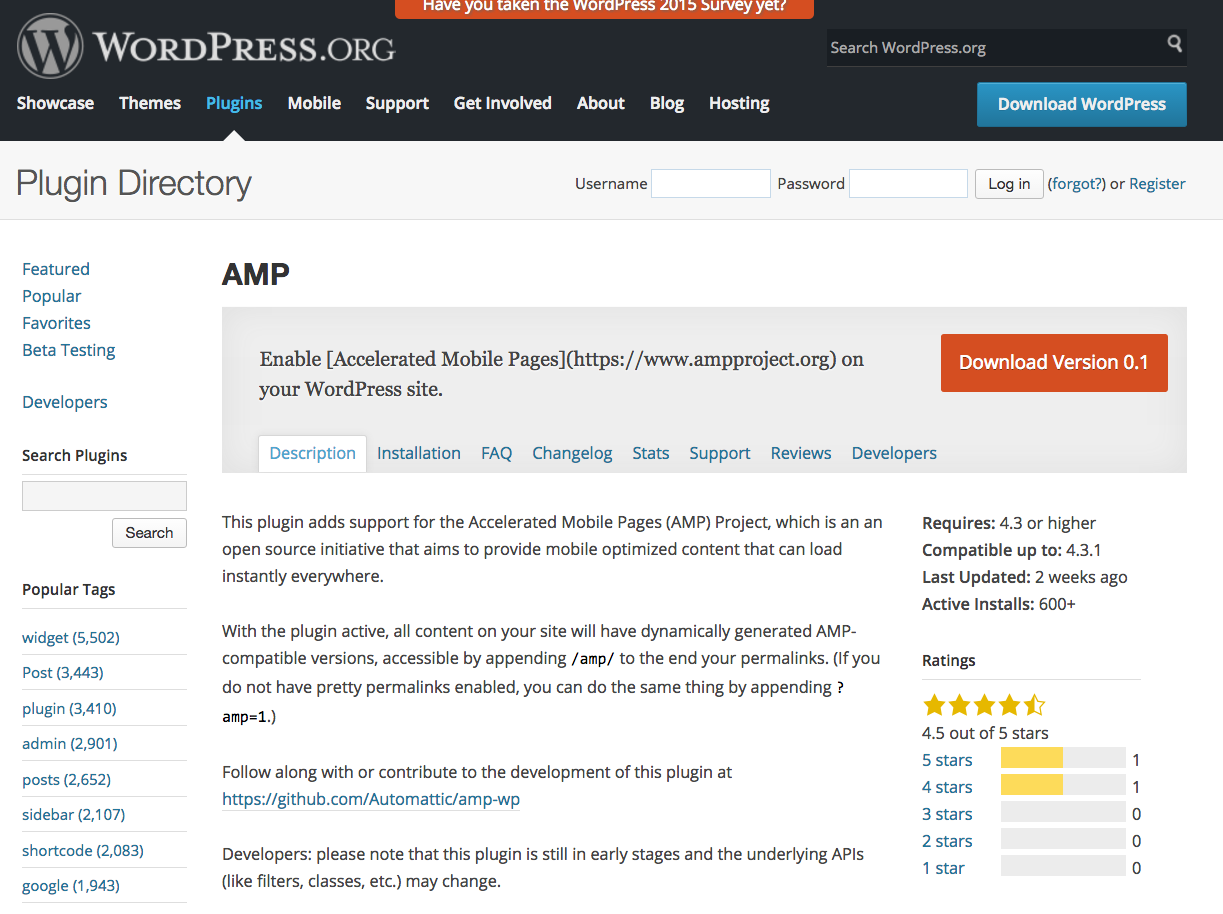 wordpress-amp