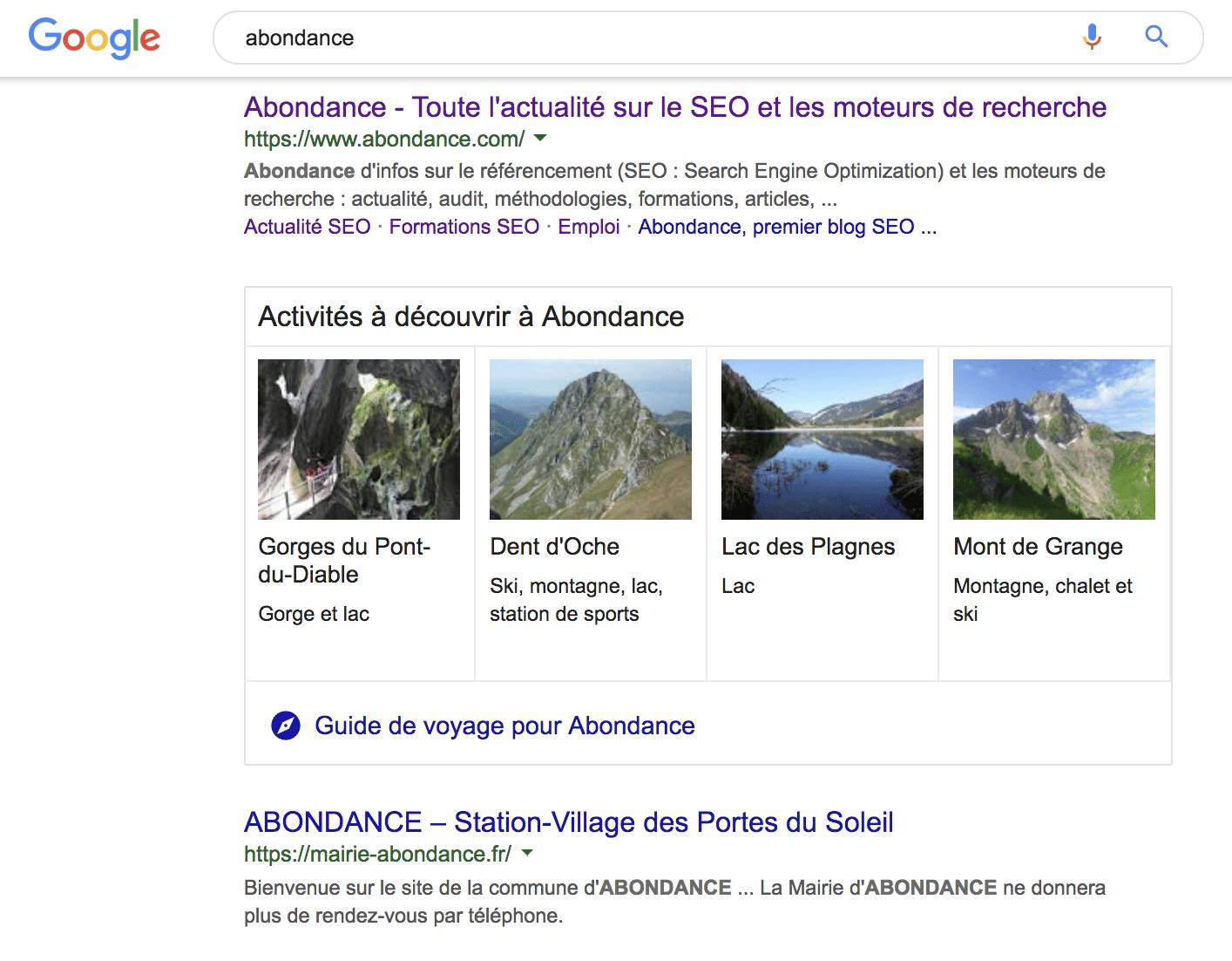 """Nouvelle interface du moteur de recherche Google avec son formulaire """"sticy"""" en haut de page"""