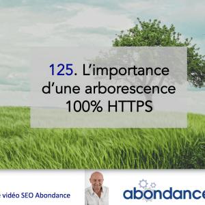 L'importance d'une arborescence 100% HTTPS – Vidéo SEO numéro 125