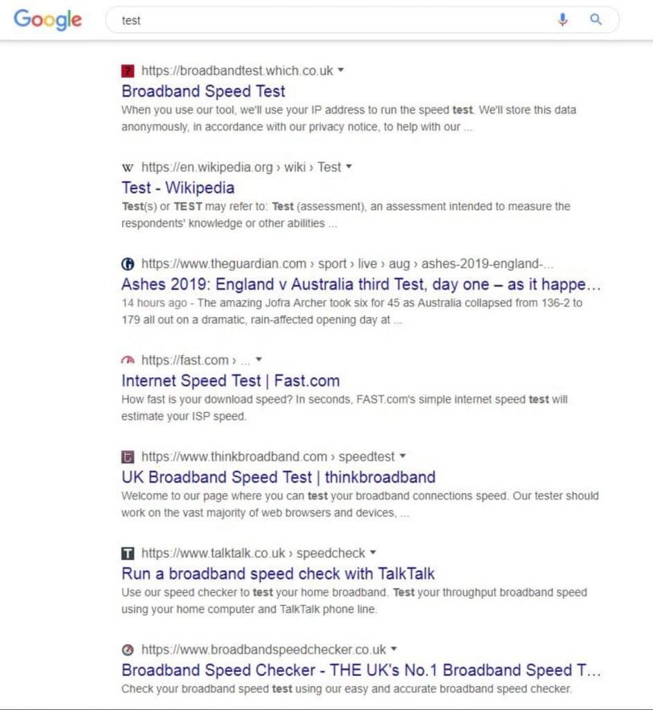 Google généralise les Fils d'Ariane dans ses SERP Desktop