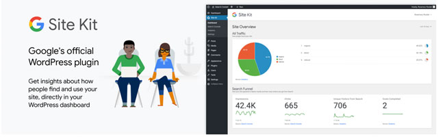 Site Kit, le plugin Google pour WordPress est officiellement disponible