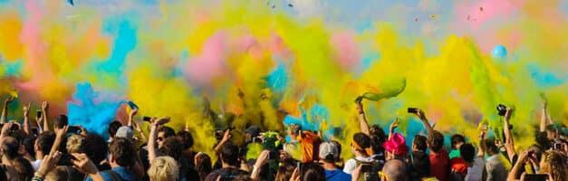 Holi, nouvel easter egg Google pour la fête des couleurs