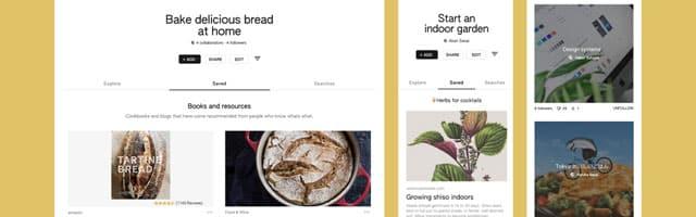 Keen, un Pinterest-Like dopé par l'IA de Google