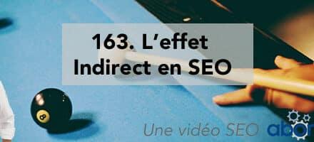 L'effet Indirect en SEO – Vidéo SEO Abondance N°163